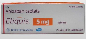 Eliquis 5 mg tablets